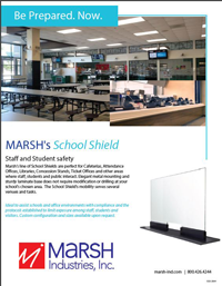 Marsh School Shield