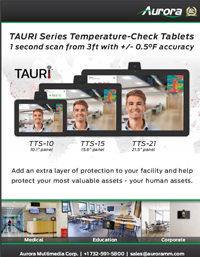 Aurora Temperature Checking Tablets