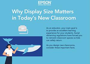 Epson BrightLink Display Size Matters